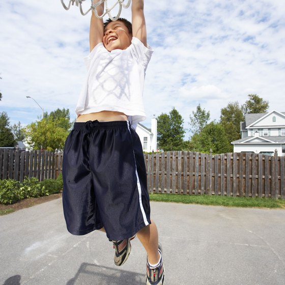 With plyometric training you can increase your vertical jump.