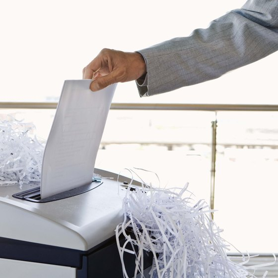 Overloading A Shredder May Cause It To Jam