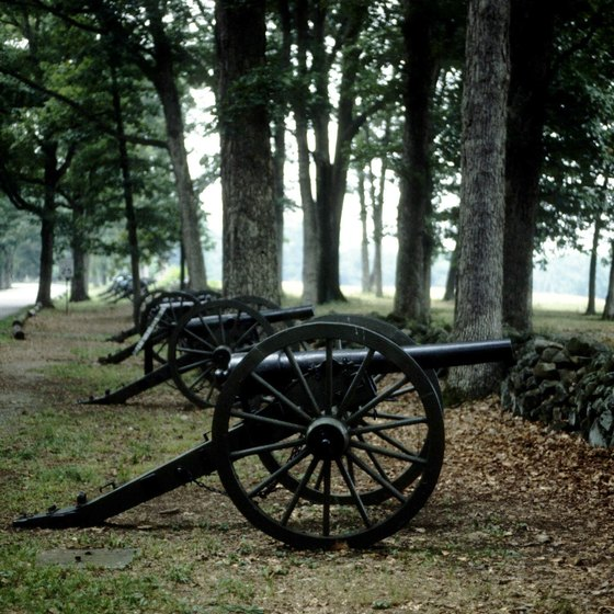 Several Civil War historic sites lie within a short drive of Fort Lee.