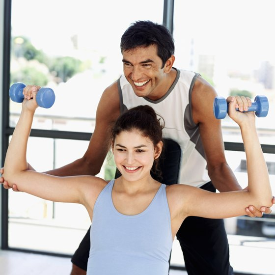 A personal trainer can teach you proper form if you're new to exercise.