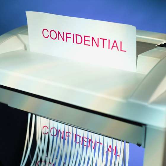 McAfee Shredder is like a paper shredder for computer files.