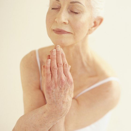 Yoga poses can be modified to suit elders.
