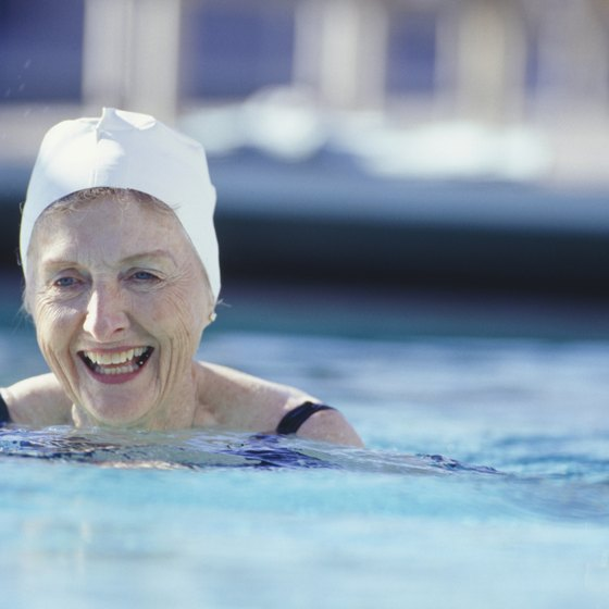 Swimming is an aerobic exercise that you can enjoy indoors or out.