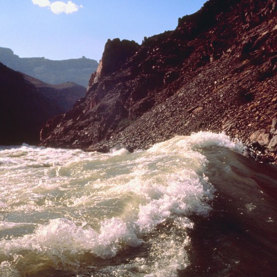 Spend days or weeks riding wild rapids through the Grand Canyon.
