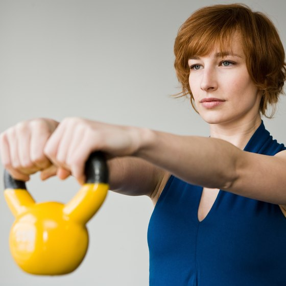 Kettlebell exercises can enhance your on-court performance.