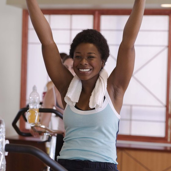 Getting adequate oxygen can improve your performance in spin class.