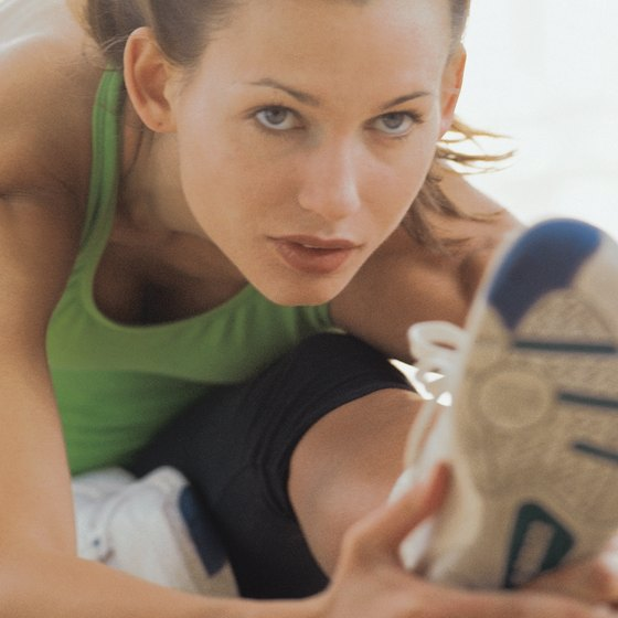 Stretching helps runners and other athletes maintain their flexibility.