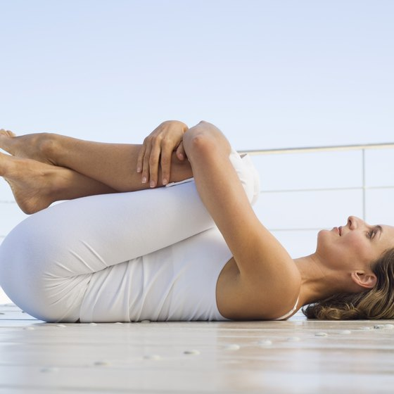Using a foam roller on your back allows the muscles and fascia to stretch and elongate.