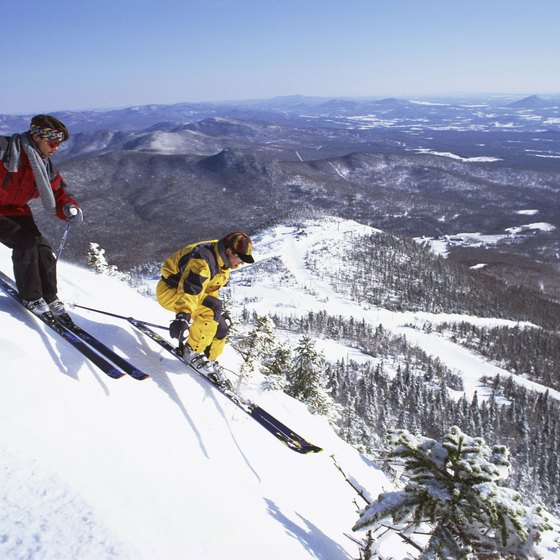 Ludlow is in the heart of southern Vermont's ski country.