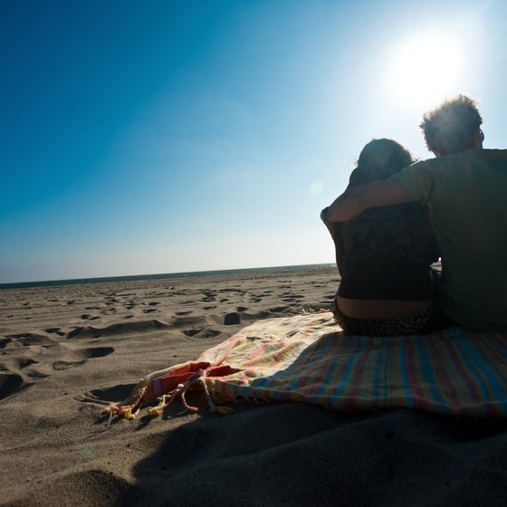 With 42 miles of coastline, the OC offers plenty of romantic beach strolls.