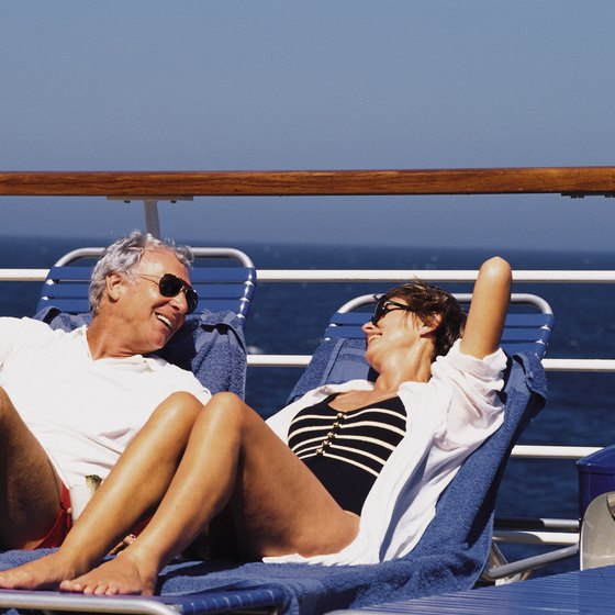 Pack sunglasses and swimwear for your cruise.