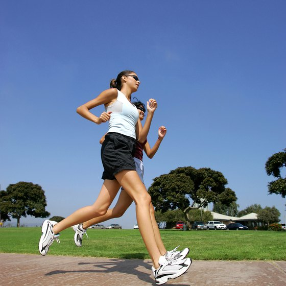 "When running, maintain a ""conversational"" pace, meaning you can talk easily."