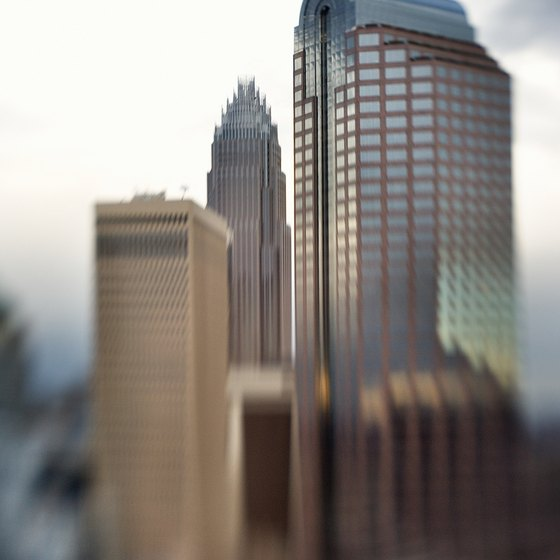 Charlotte, 23 miles east of Gastonia, is one of America's banking capitals.