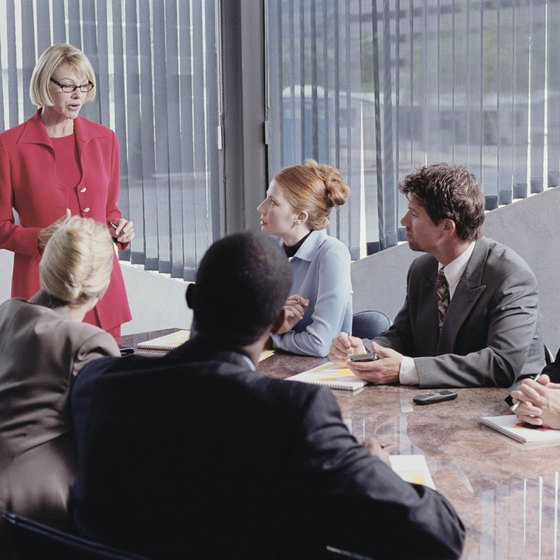Nonprofit boards handle HR issues through committees or task forces.