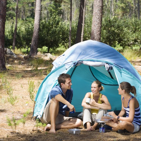 White River National Forest offers additional camping opportunity near Manitou Springs.