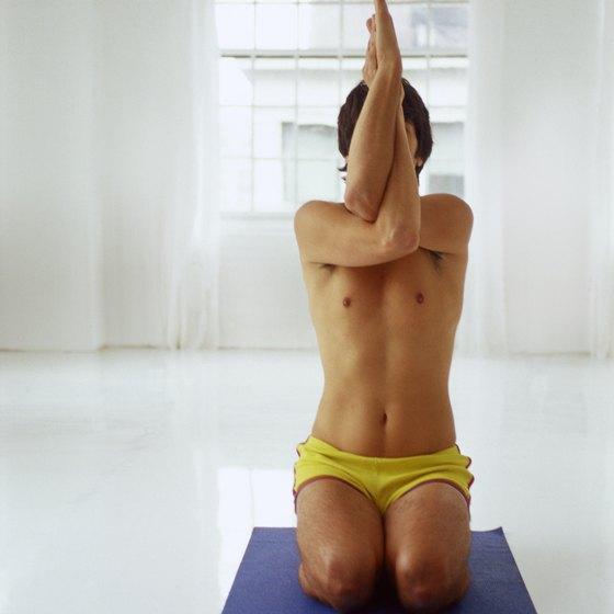 Most of the postures used in Bikram yoga are particular to that practice.