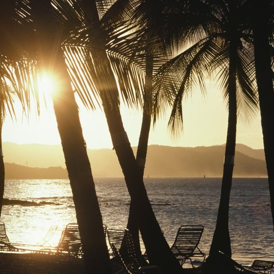 Sunsets are included in your Virgin Island vacation.