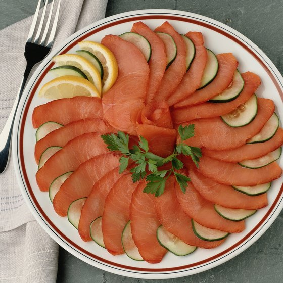 Avoid lox, which provides less nutrition than baked salmon and is loaded with salt.