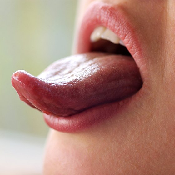 Tongue closeup