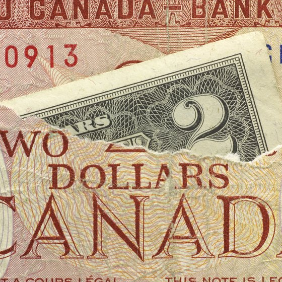 How To Calculate A Currency Exchange Rate By Robert Schrader Use The U S Dollar Canadian