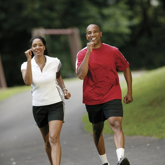 You can intensify your walk by increasing speed or walking at an incline.