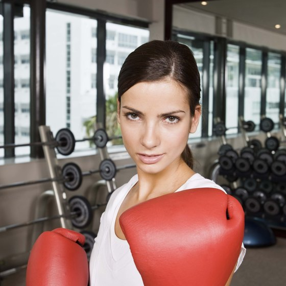 Get in the ring to lose weight.