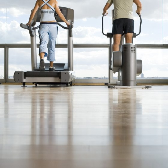 Burn tummy fat using cardiovascular exercise machines.