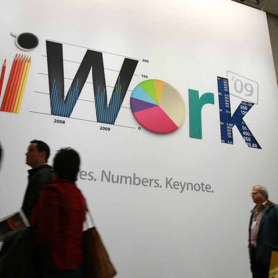 Numbers is part of the iWork software package.