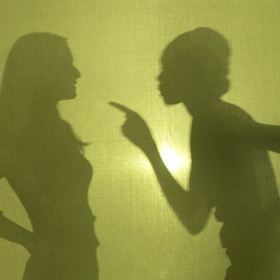 Don't tolerate verbal abuse in the workplace.