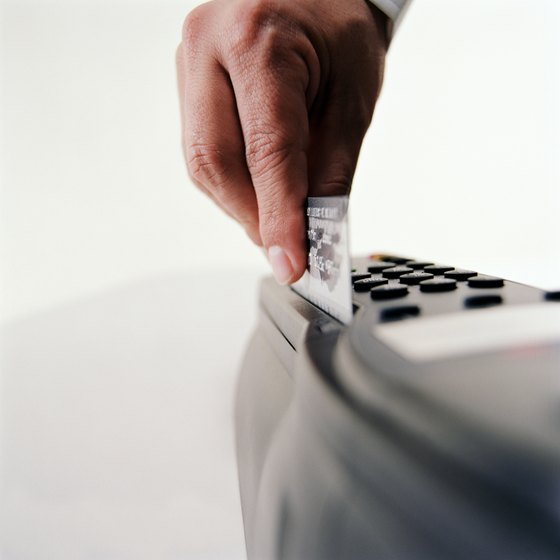 Credit card machines come in many types.