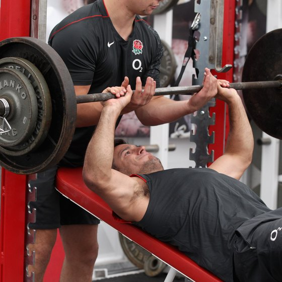 Ask a spotter for help when testing your max.