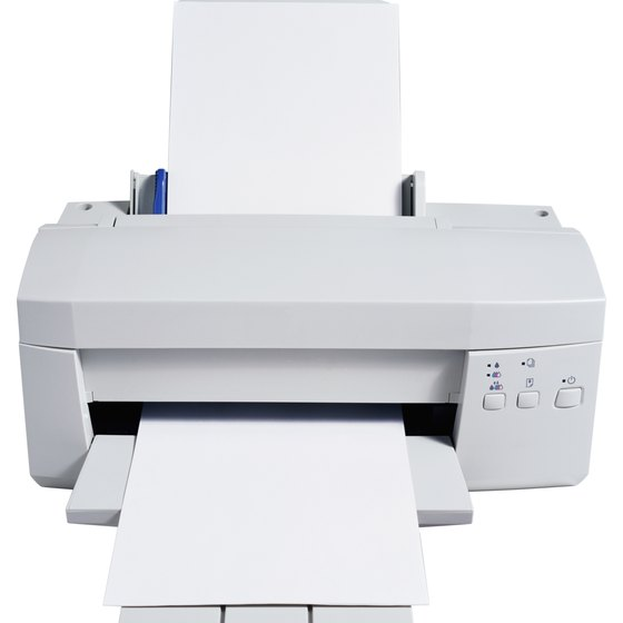 Laser printers use toner and inkjet printers use liquid ink.