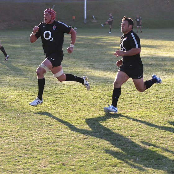 To be competitive in team sports like rugby, speed is essential.