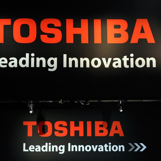 Toshiba's convertible laptops rotate to produce a tablet PC.