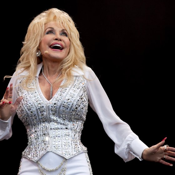 Country singer Dolly Parton owns Dollywood.
