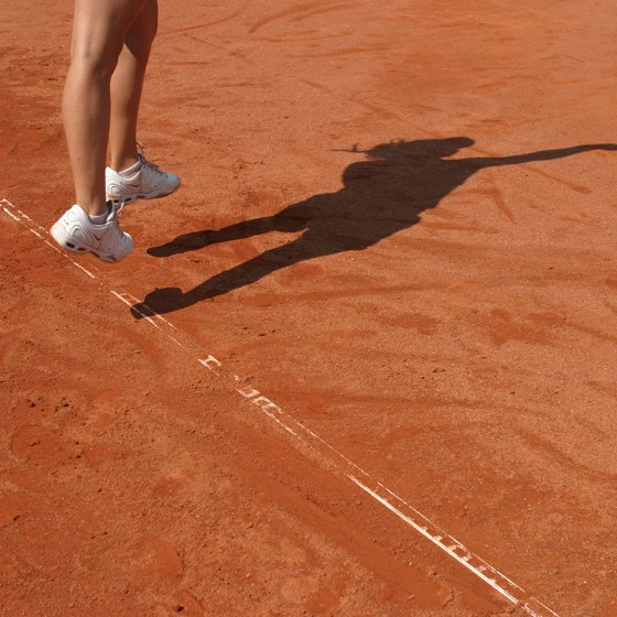 A strong vertical jump can give your tennis serve power.