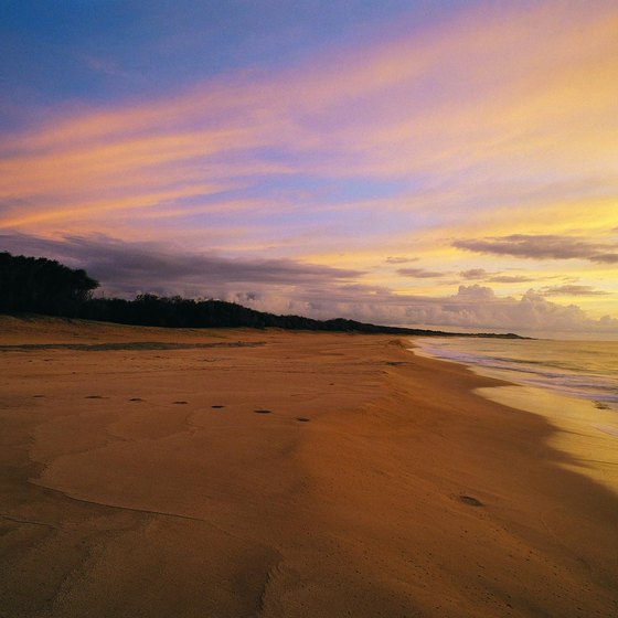 Enjoy a private, romantic sunset on Molokai beach.