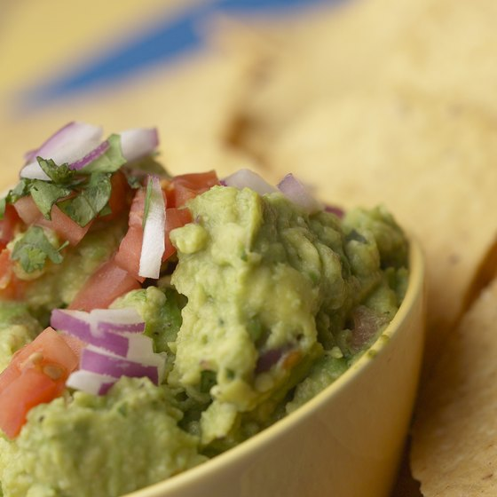 Guacamole is a delicious source of many nutrients.
