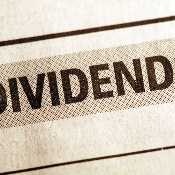 Dividends arise from a company's profits.