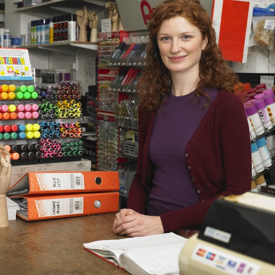 Build relationships with stationery retailers that attract your target customers to increase your marketing reach.
