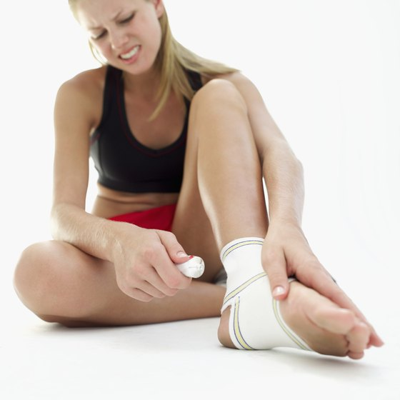 Avoid injury by strengthening your ankles and calves.