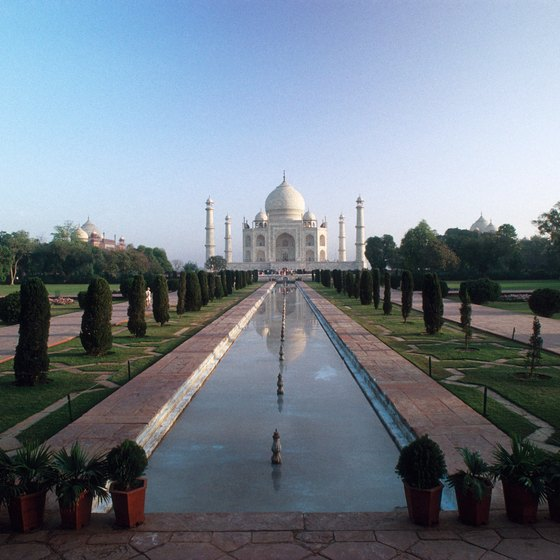 The famed Taj Mahal is just a two-hour train ride from Delhi.