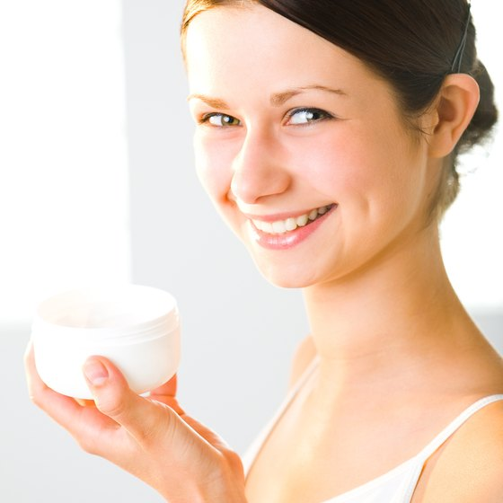 Selling skin care products in a retail setting is based on the fundamentals of visual merchandising.