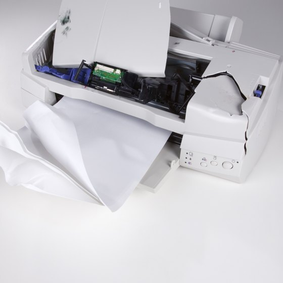 You should configure the firewall before you troubleshoot the printer itself.