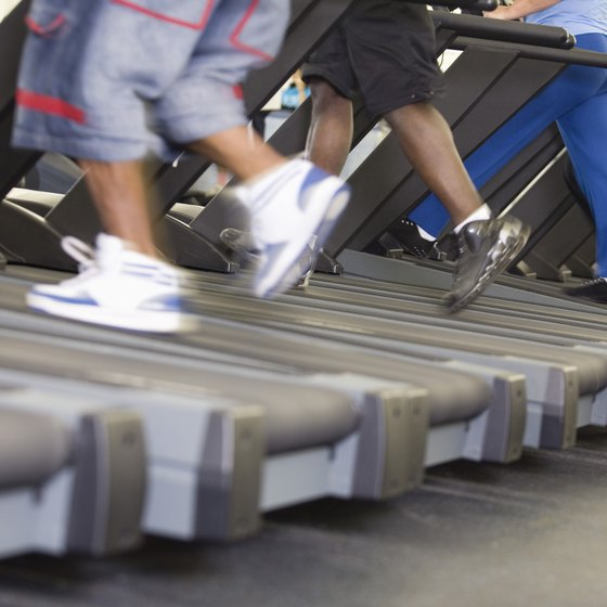 Treadmill walking builds stamina and endurance.