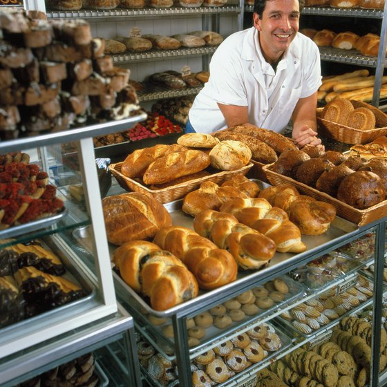 A bakery's variable costs change with its production level.