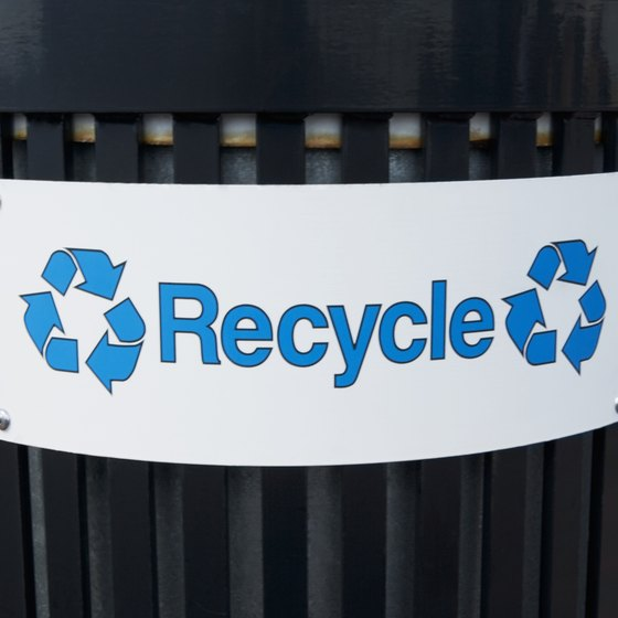Make recycling a priority in your smal business as part of your social responsbility.