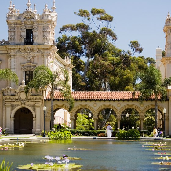 Enjoy a day at Balboa Park, 20 miles south of Santee.