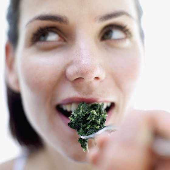 Spinach is packed with vitamins and minerals.