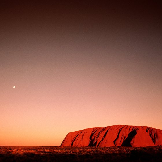 Uluru, or Ayers Rock, is one of the world's iconic landforms.